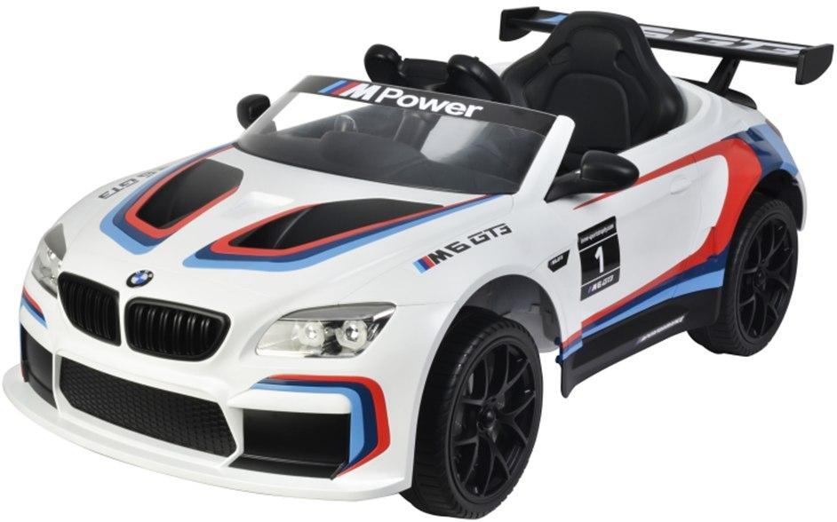 Buddy toys Elektrické autíčko BMW M6 GT3 - bílé