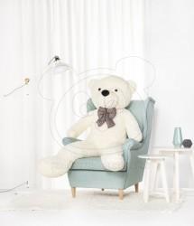 HračkyZaDobréKačky plyšový medvěd 160 cm bílý