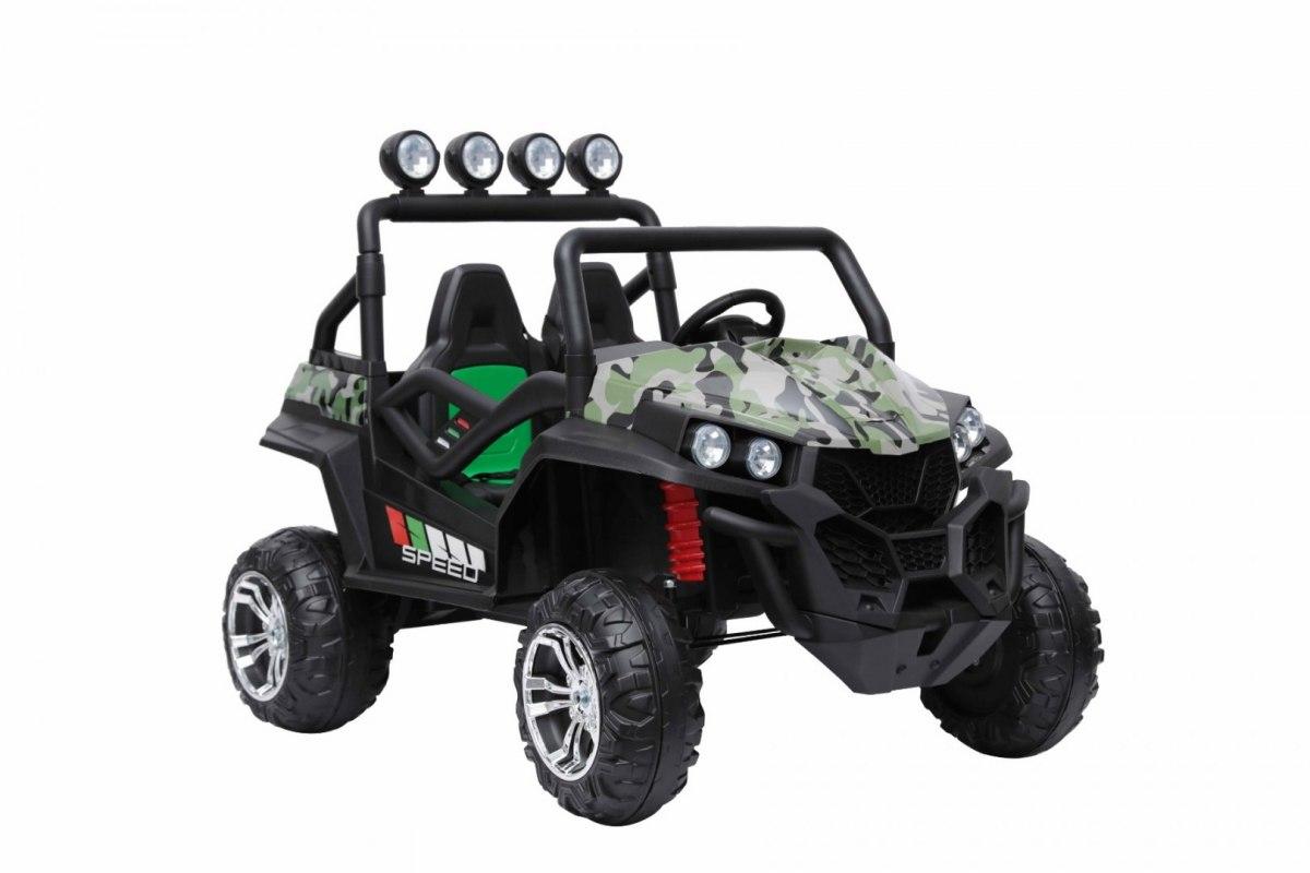 Dětské autíčko Grand Buggy 4x4 LIFT - maskáčové