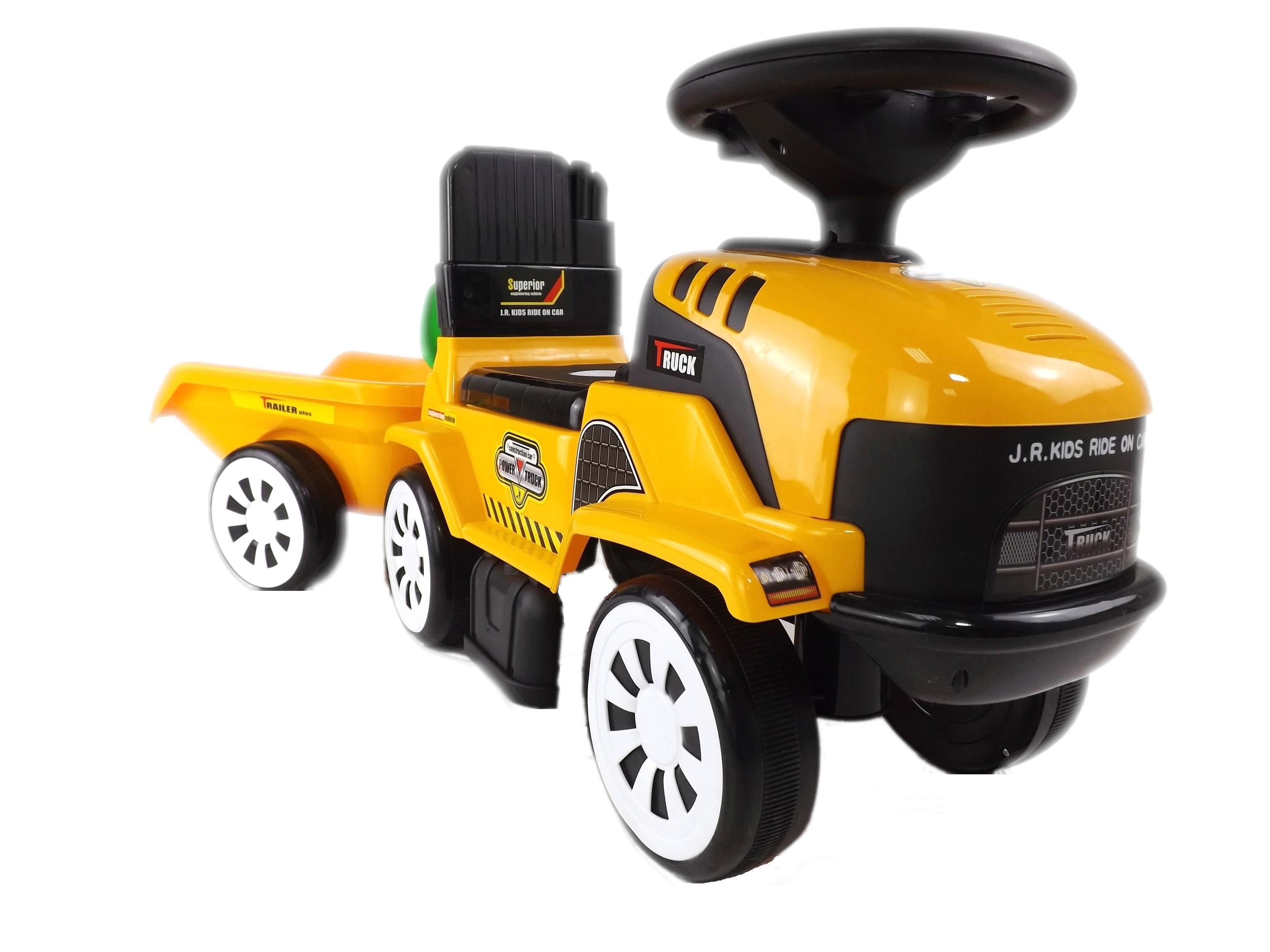 Odrážedlo traktor s přívěsem
