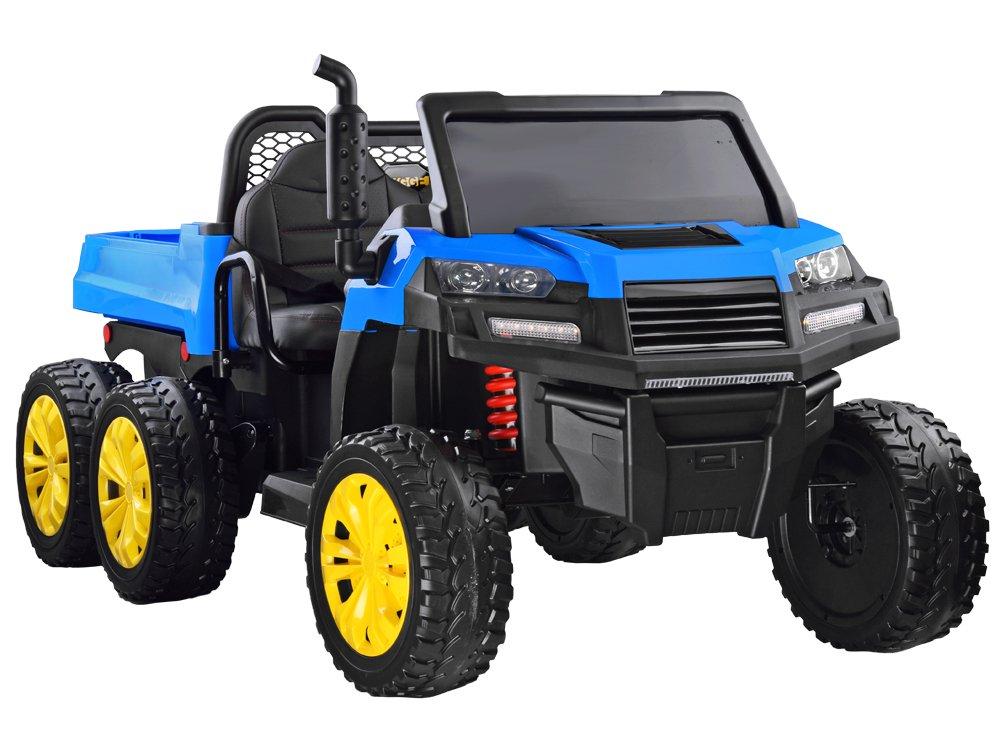 Elektrické farmářské autíčko - modré