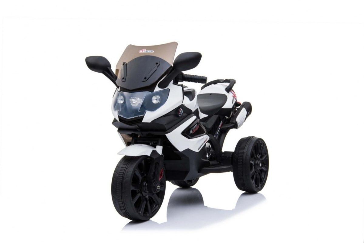 Elektrická motorka Grand Sport - bílá