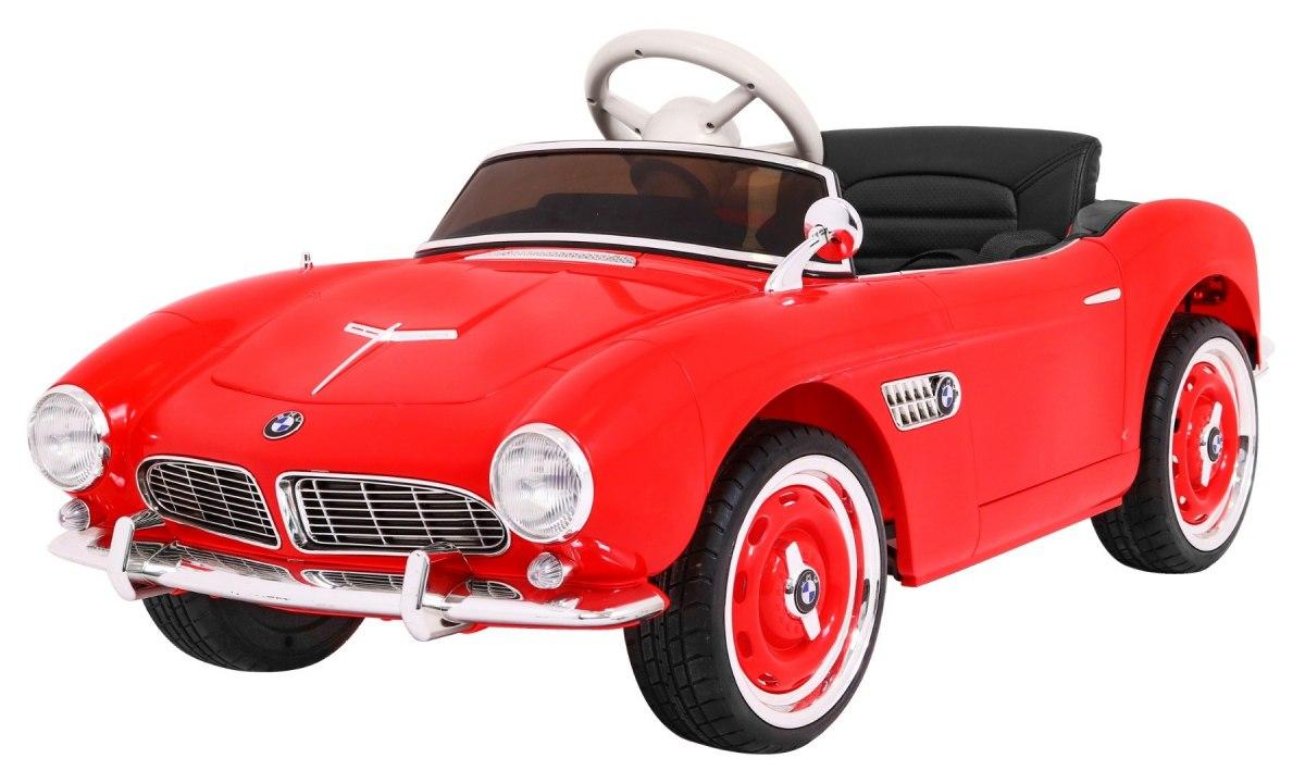 Elektrické autíčko BMW 507 Retro - červené