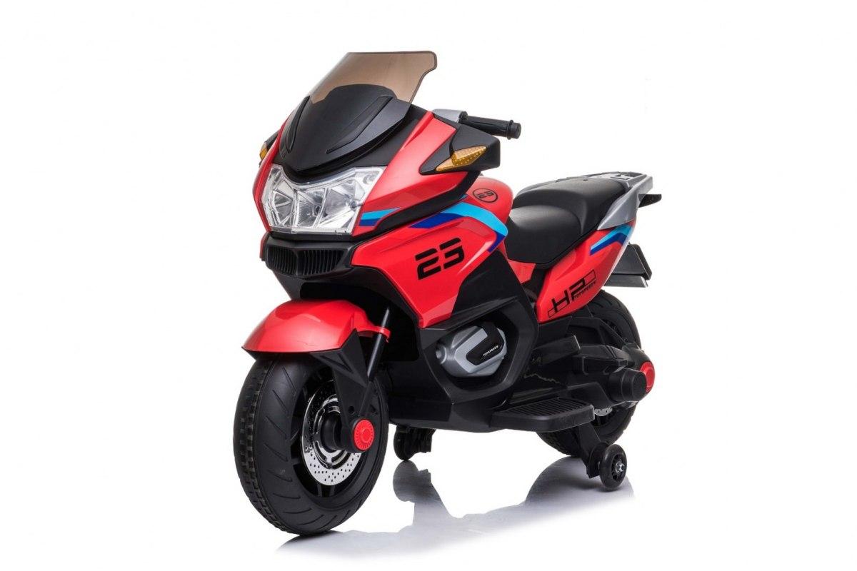 Elektrická motorka Sport Tourism - červená