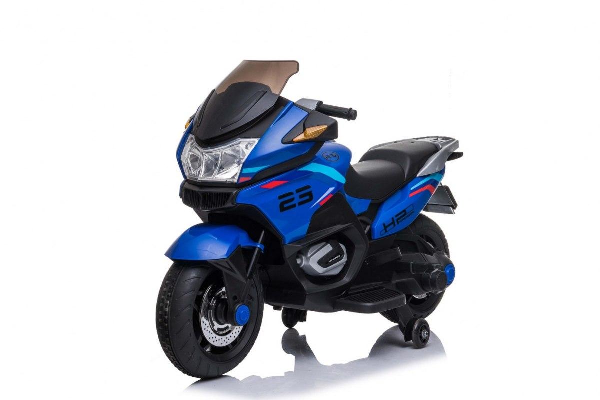 Elektrická motorka Sport Tourism - modrá