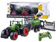 RC traktor s kropící cisternou 1:16 2,4Ghz