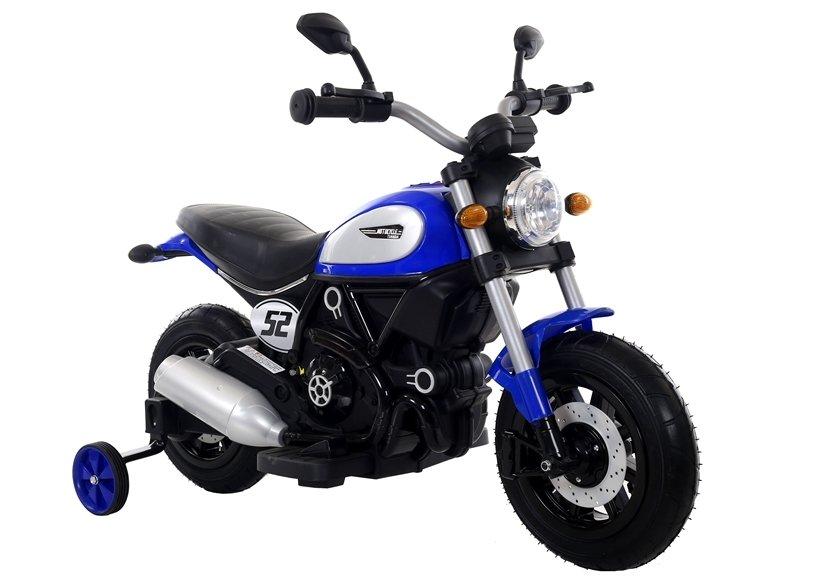 Dětská elektrická motorka Shadow - modrá