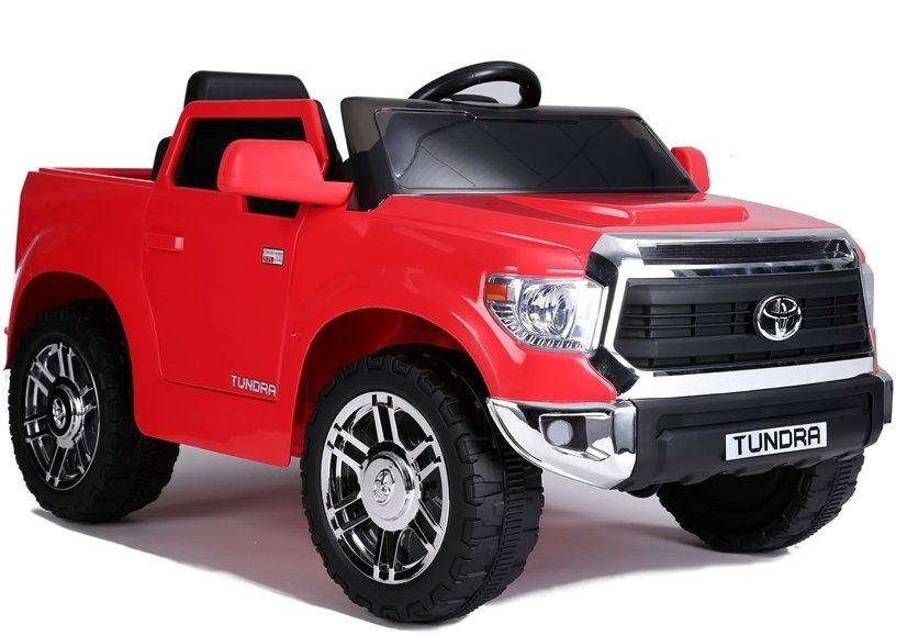 Dětské elektrické autíčko Toyota Tundra - lakované červené