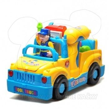 Šroubovací auto s vrtačkou