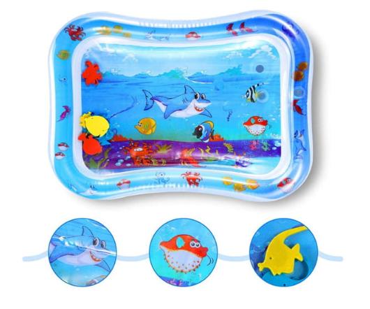 Nafukovací podložka - bazén s rybičkami