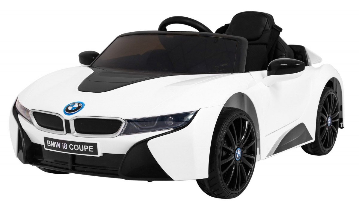 Elektrické autíčko BMW I8 LIFT - bílé