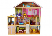 Dřevěný domeček pro panenky Darina 123 cm