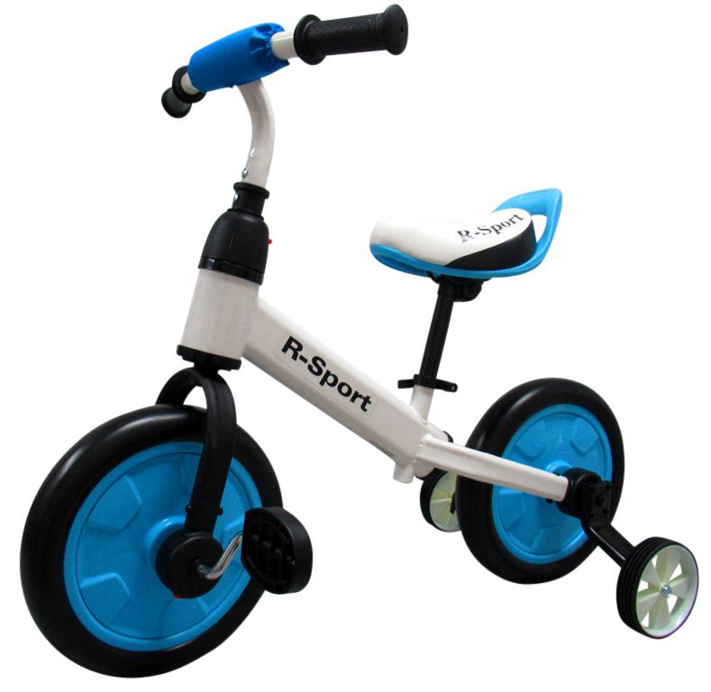 Dětské odrážedlo 3v1 - modré R-Sport