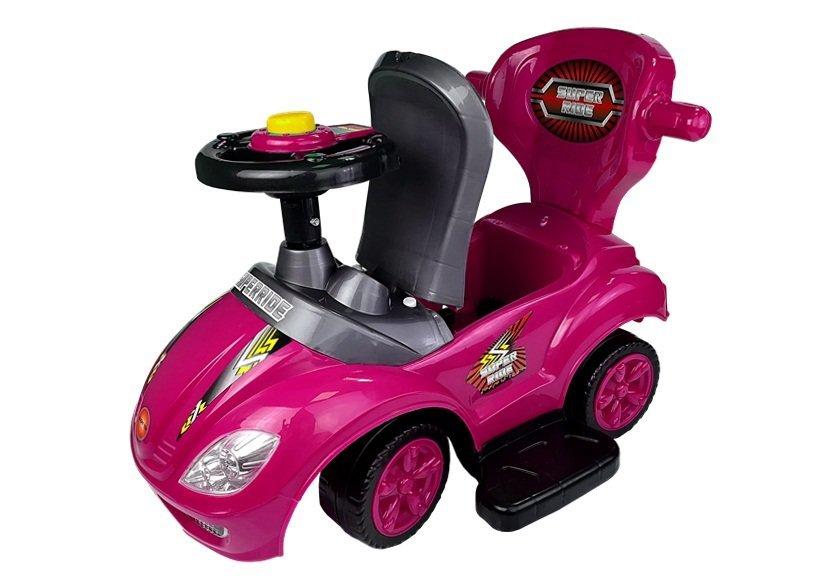 Jezdítko a odrážedlo 3v1 Baby Mix