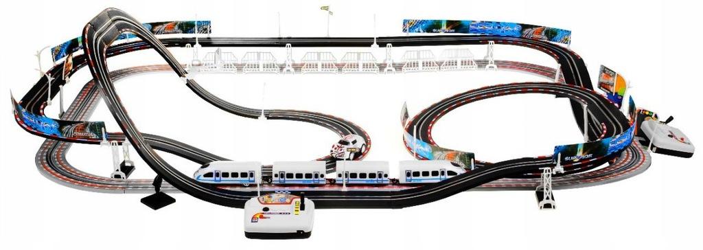 Velká autodráha 6,3 m - vláčkodráha