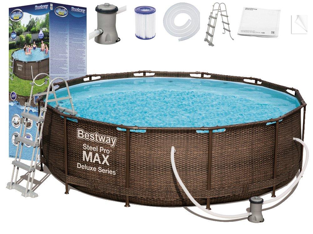 Bestway Steel Pro Max Rattan 3,66 x 1 m 56709 9V1