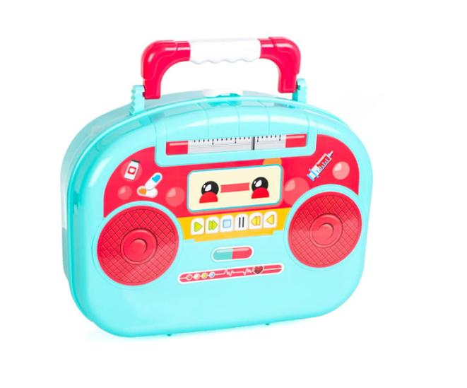 Dětský lékařský kufřík s příslušenstvím