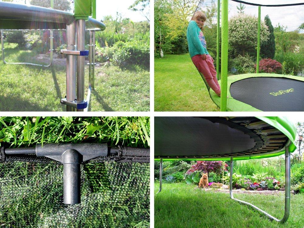 Zahradní trampolína SKY FLYER RING 2v1 244 cm