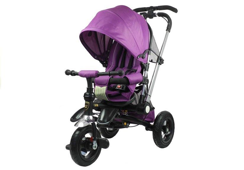 Dětská tříkolka Kinderaft PRO - fialová