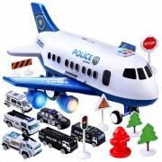 Velké policejní letadlo