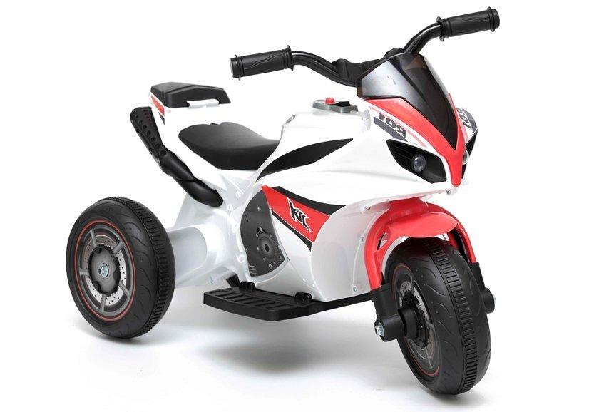 Dětská elektrická motorka GTM5588 - červená