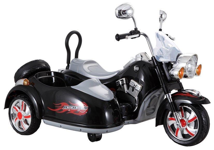 Dětská elektrická motorka SX138 - černá