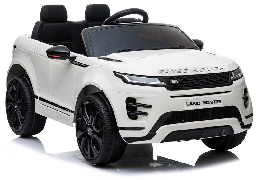 Elektrické autíčko Range Rover Evoque - bílé