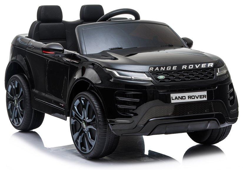 Elektrické autíčko Range Rover Evoque - černé