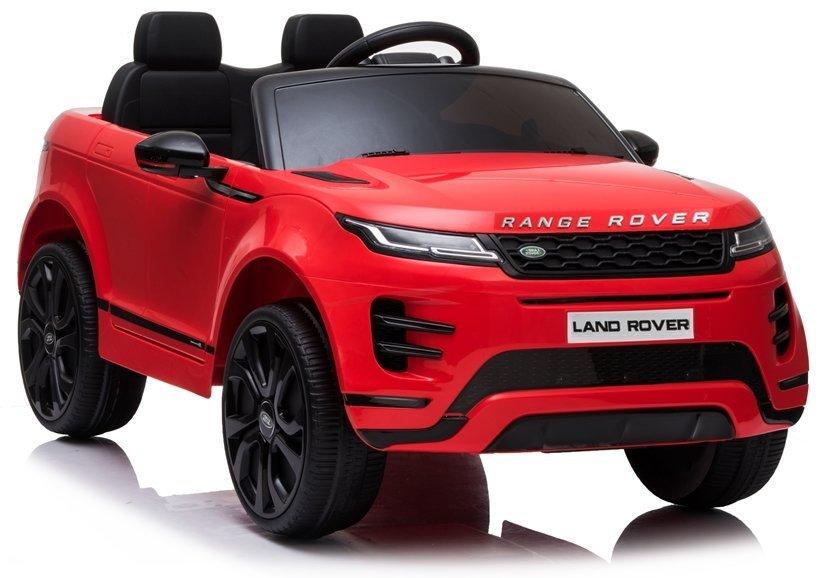 Elektrické autíčko Range Rover Evoque - červené