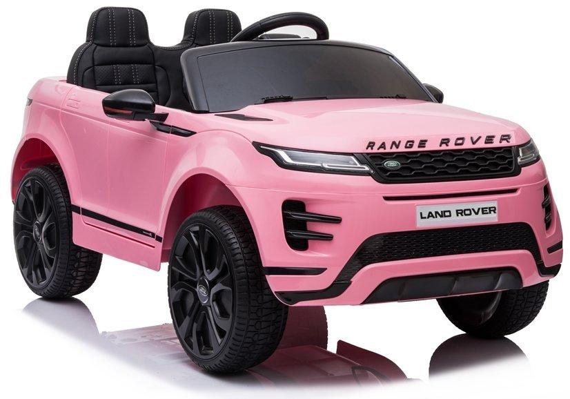 Elektrické autíčko Range Rover Evoque - růžové