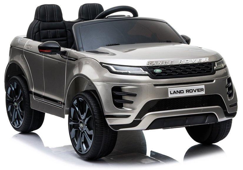 Elektrické autíčko Range Rover Evoque - lakované stříbrné