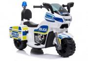 HračkyZaDobréKačky Elektrická motorka Policie
