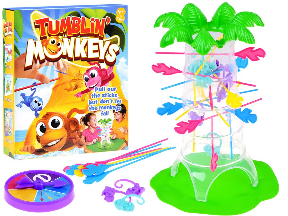 HračkyZaDobréKačky Hra padající opičky