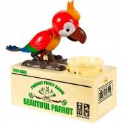 HračkyZaDobréKačky Pokladnička papoušek
