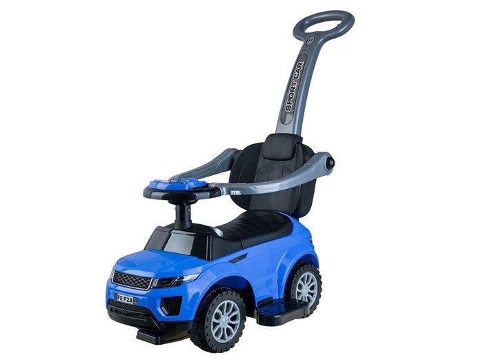 HračkyZaDobréKačky Odrážedlo Land Rover 3v1 - modré