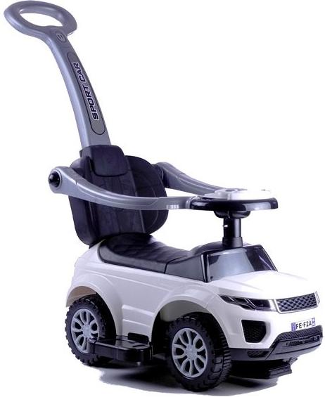 HračkyZaDobréKačky Odrážedlo Land Rover 3v1 - bílé