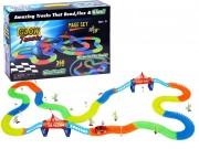 HračkyZaDobréKačky Svítící autodráha 360 dílů