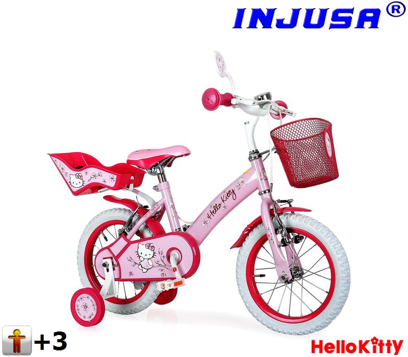 Dětské kolo Injusa HELLO KITTY 12