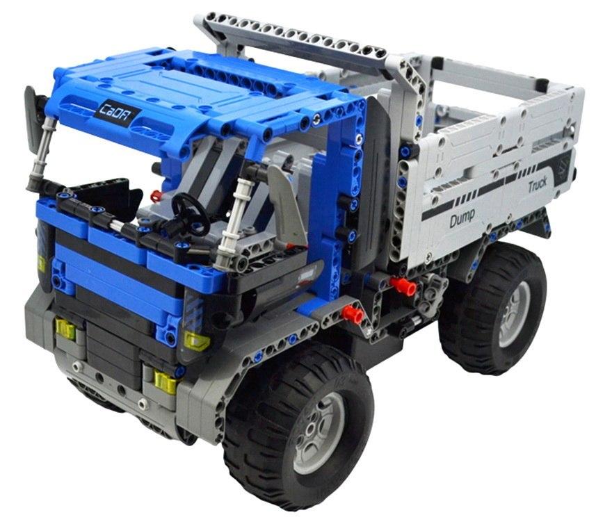 Stavebnice Truck auto na dálkové ovládání 1:14