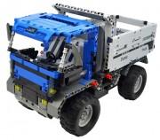 Stavebnice Dump Truck auto na dálkové ovládání RTR 1:14