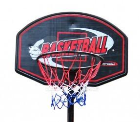 HračkyZaDobréKačky Velký basketbalový koš 322 cm