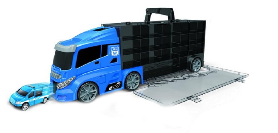 HračkyZaDobréKačky Kamión s autíčky