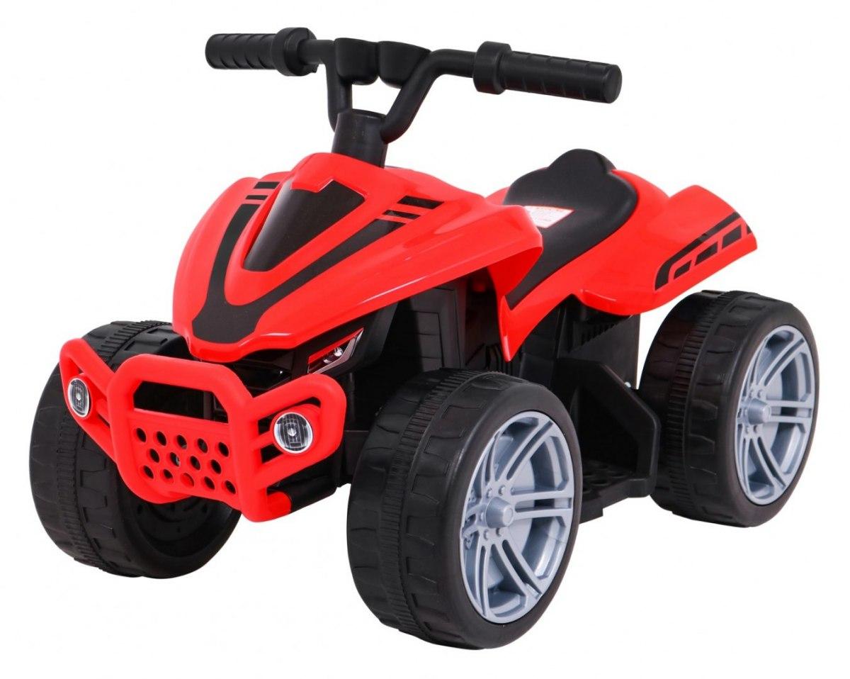 Elektrická čtyřkolka Little Monster - červená