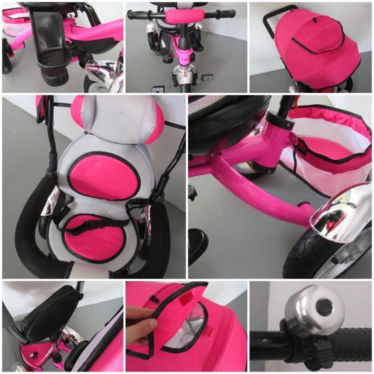 Dětská tříkolka T3 R-Sport