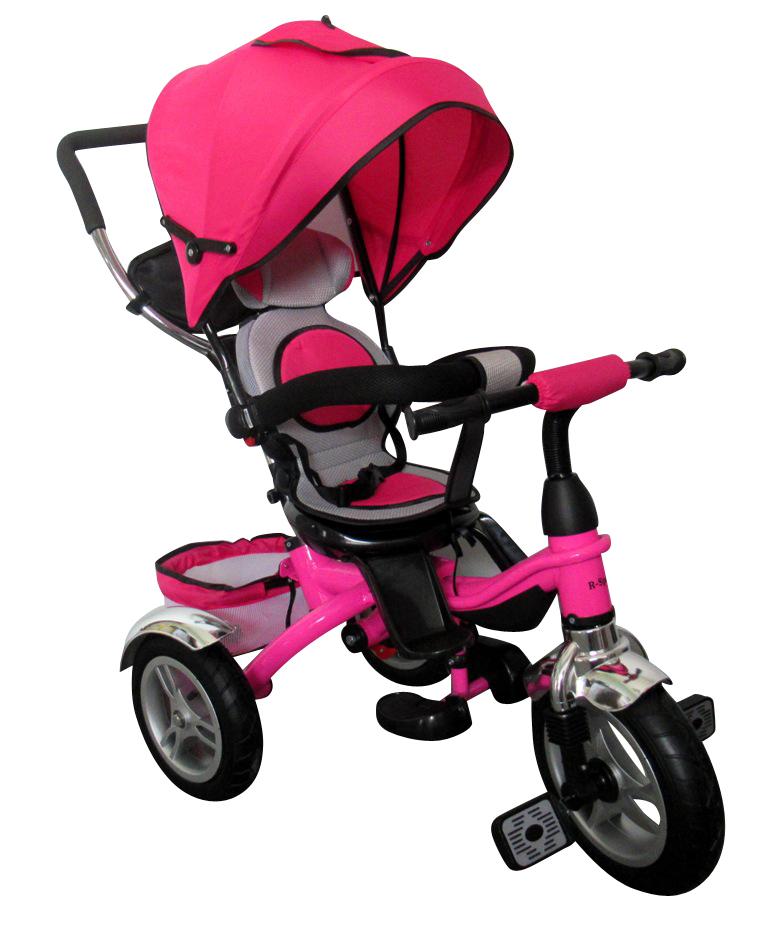Dětská tříkolka T3 R-Sport - růžová