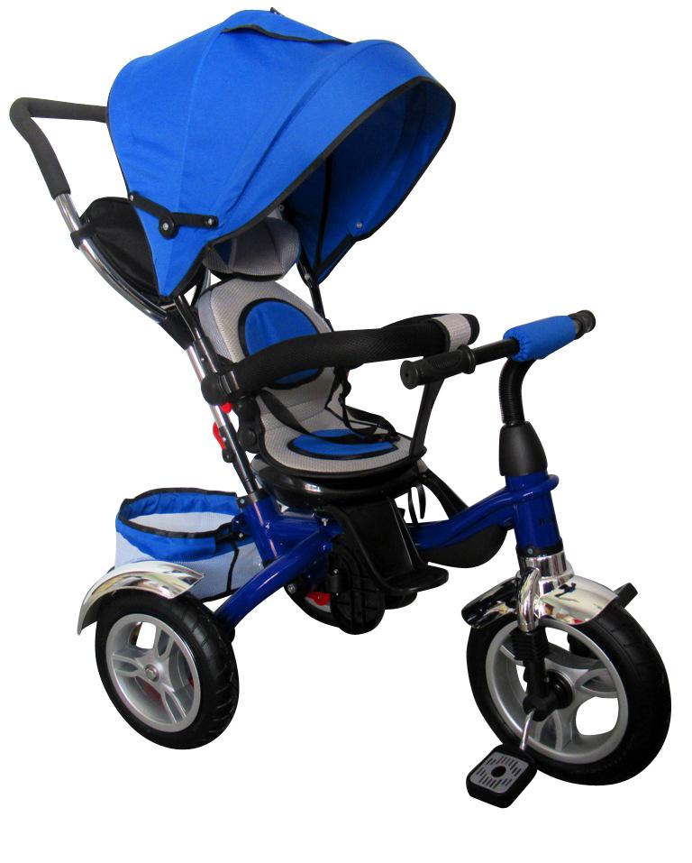 Dětská tříkolka T3 R-Sport - modrá