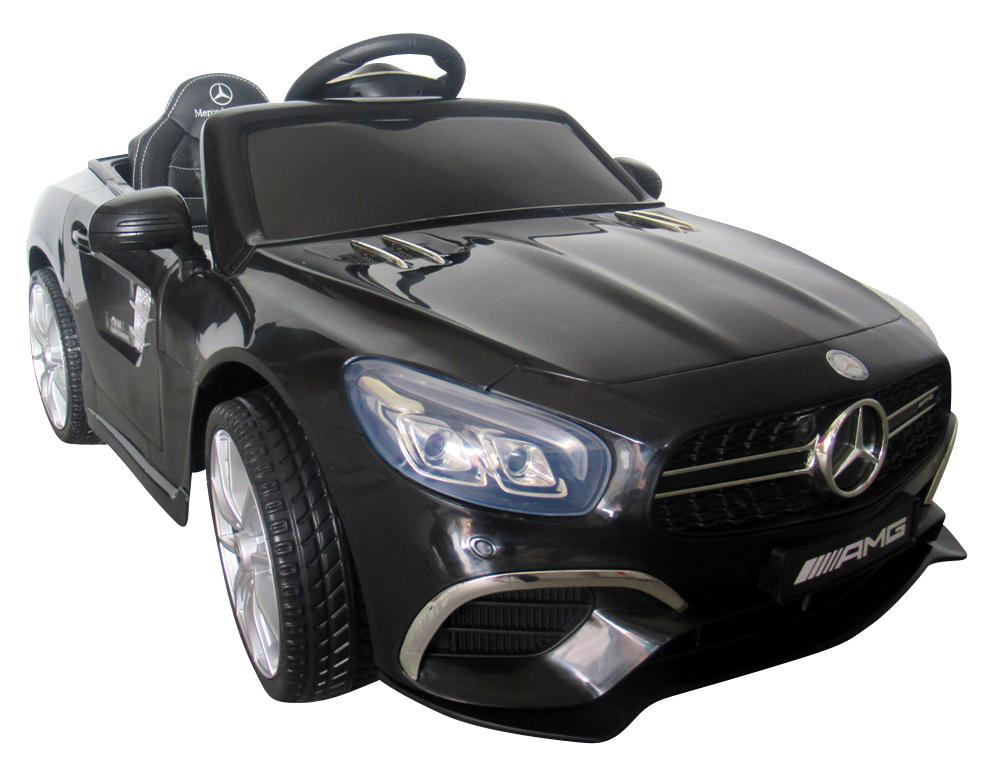 Elektrické autíčko Mercedes SL63 - černé