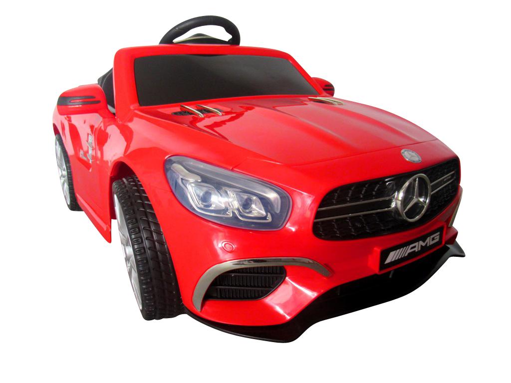 Elektrické autíčko Mercedes SL63 - červené