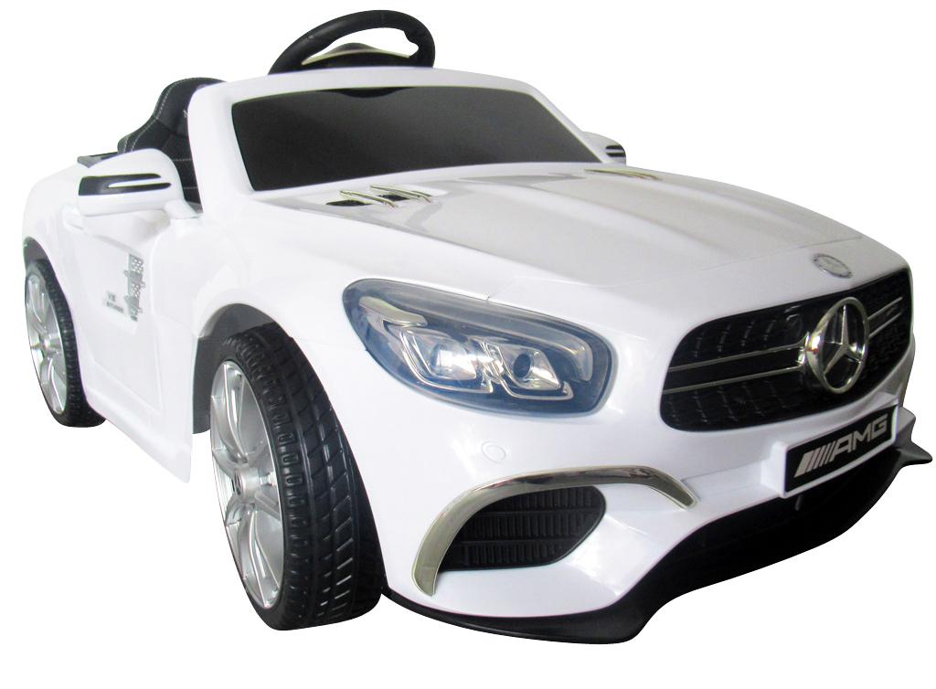 Elektrické autíčko Mercedes SL63 - bílé