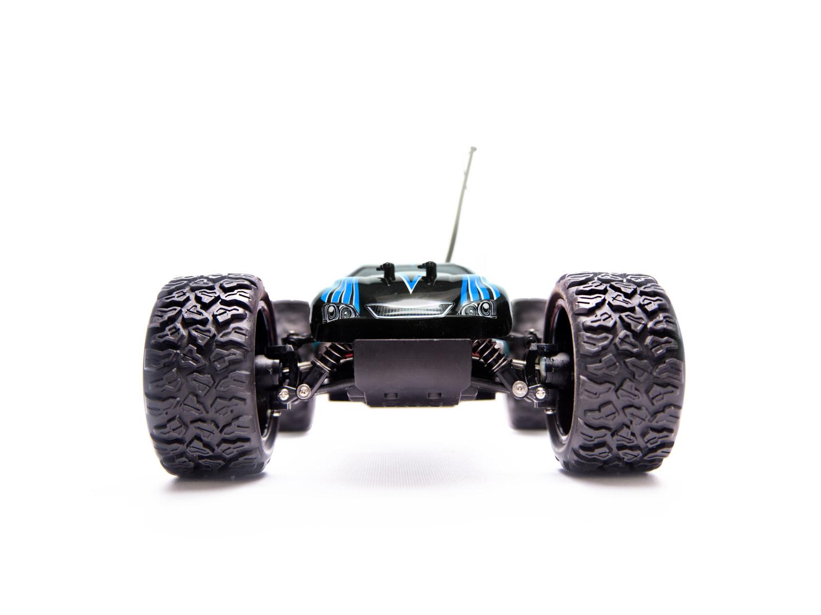 RC auto Land Buster 4x4 1:12 modré